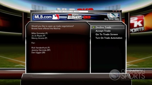 Major League Baseball 2K9 Screenshot #221 for Xbox 360