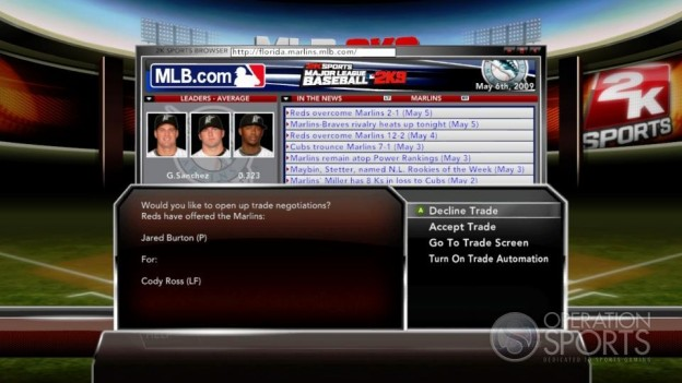 Major League Baseball 2K9 Screenshot #222 for Xbox 360