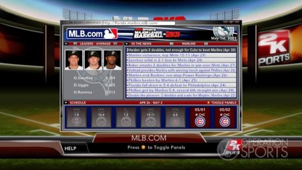Major League Baseball 2K9 Screenshot #223 for Xbox 360