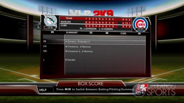Major League Baseball 2K9 Screenshot #224 for Xbox 360