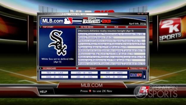 Major League Baseball 2K9 Screenshot #225 for Xbox 360