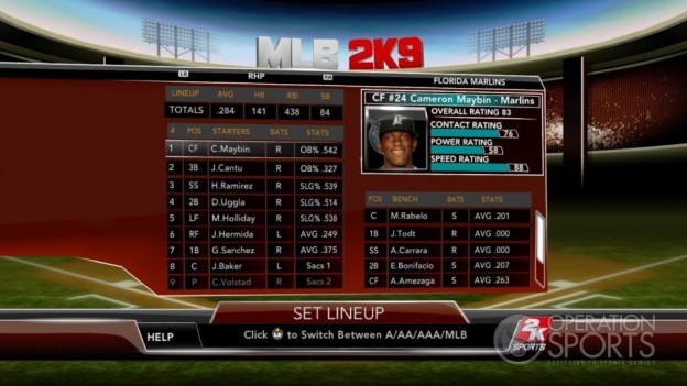 Major League Baseball 2K9 Screenshot #228 for Xbox 360