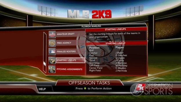 Major League Baseball 2K9 Screenshot #229 for Xbox 360