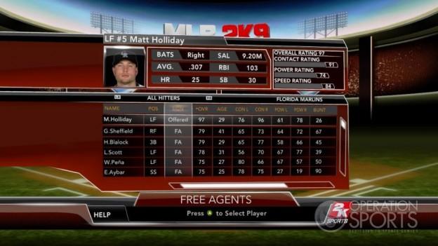 Major League Baseball 2K9 Screenshot #234 for Xbox 360