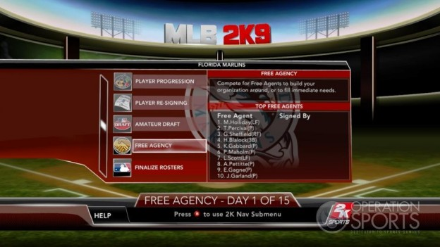 Major League Baseball 2K9 Screenshot #235 for Xbox 360