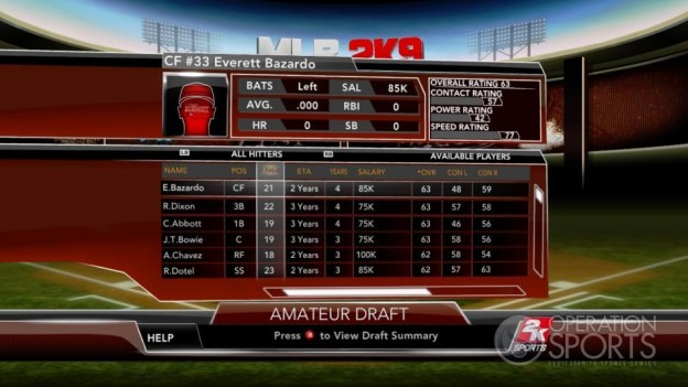 Major League Baseball 2K9 Screenshot #237 for Xbox 360
