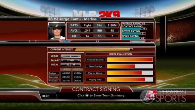 Major League Baseball 2K9 Screenshot #240 for Xbox 360