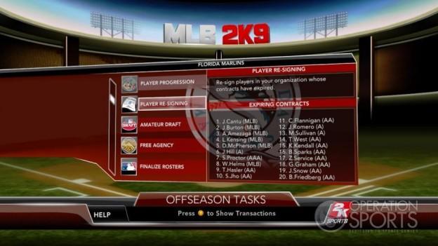 Major League Baseball 2K9 Screenshot #242 for Xbox 360