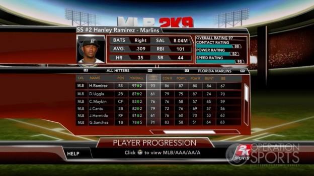 Major League Baseball 2K9 Screenshot #243 for Xbox 360