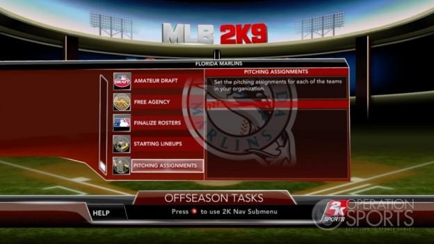 Major League Baseball 2K9 Screenshot #244 for Xbox 360