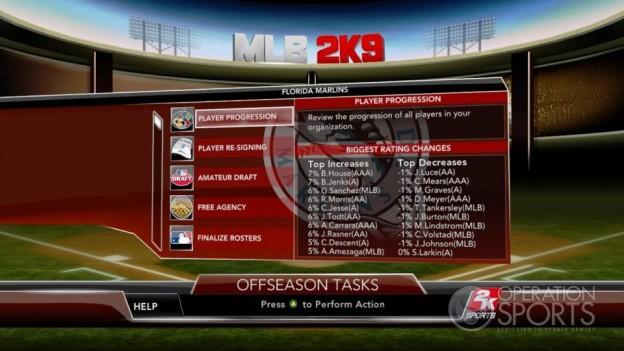 Major League Baseball 2K9 Screenshot #246 for Xbox 360
