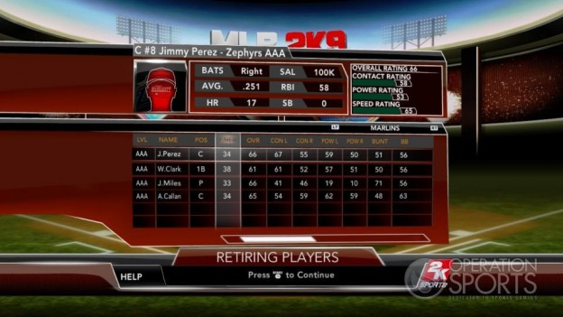 Major League Baseball 2K9 Screenshot #248 for Xbox 360