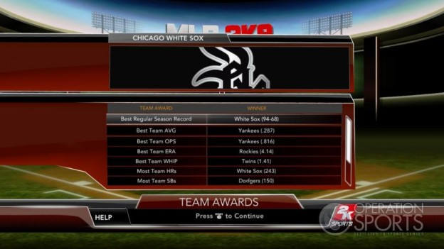 Major League Baseball 2K9 Screenshot #250 for Xbox 360