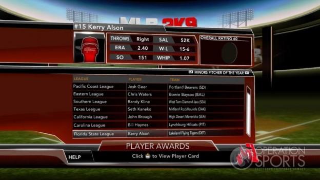 Major League Baseball 2K9 Screenshot #251 for Xbox 360