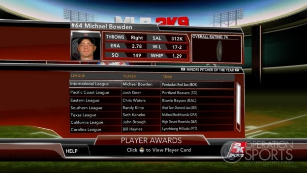 Major League Baseball 2K9 Screenshot #252 for Xbox 360
