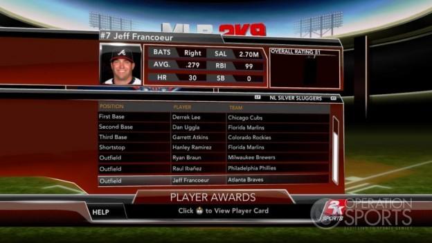 Major League Baseball 2K9 Screenshot #255 for Xbox 360