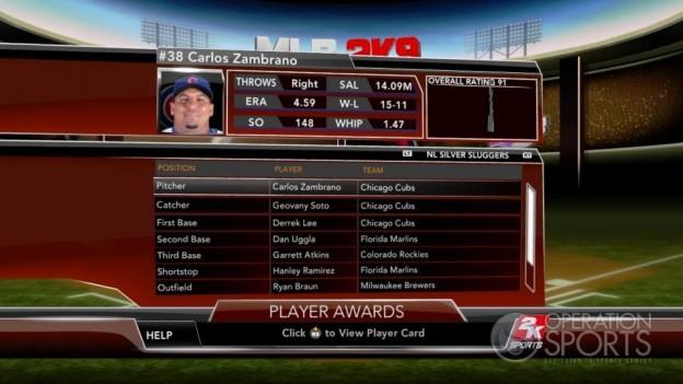Major League Baseball 2K9 Screenshot #257 for Xbox 360