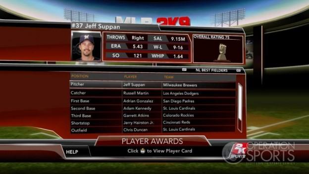 Major League Baseball 2K9 Screenshot #261 for Xbox 360