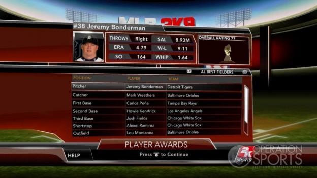 Major League Baseball 2K9 Screenshot #263 for Xbox 360