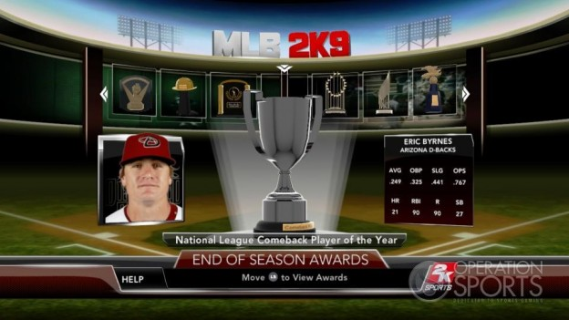 Major League Baseball 2K9 Screenshot #264 for Xbox 360