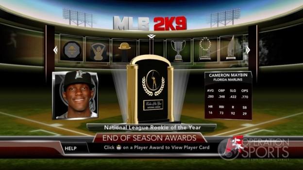 Major League Baseball 2K9 Screenshot #265 for Xbox 360