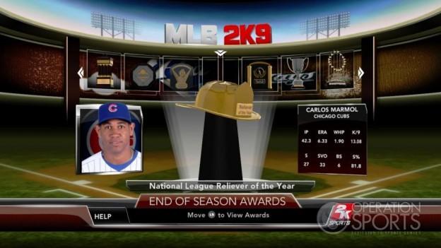 Major League Baseball 2K9 Screenshot #266 for Xbox 360