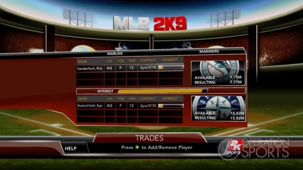 Major League Baseball 2K9 Screenshot #267 for Xbox 360