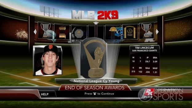 Major League Baseball 2K9 Screenshot #268 for Xbox 360
