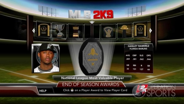 Major League Baseball 2K9 Screenshot #269 for Xbox 360
