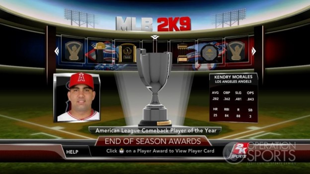 Major League Baseball 2K9 Screenshot #270 for Xbox 360