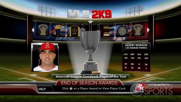 Major League Baseball 2K9 Screenshot #270 for Xbox 360