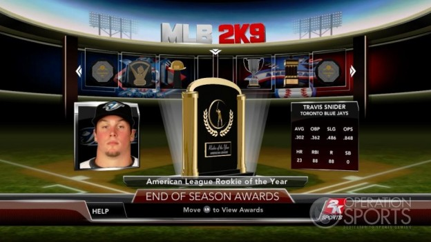 Major League Baseball 2K9 Screenshot #271 for Xbox 360