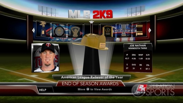 Major League Baseball 2K9 Screenshot #272 for Xbox 360