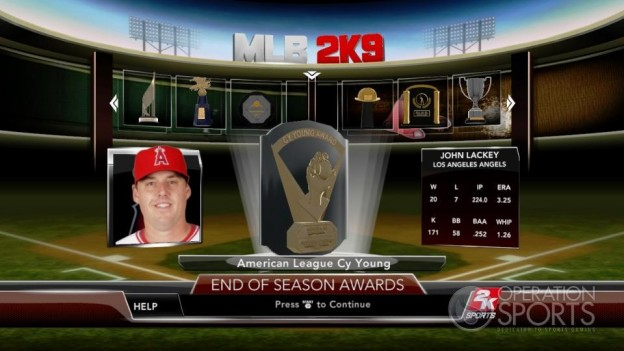 Major League Baseball 2K9 Screenshot #273 for Xbox 360