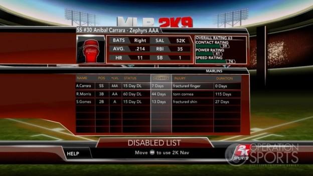 Major League Baseball 2K9 Screenshot #281 for Xbox 360
