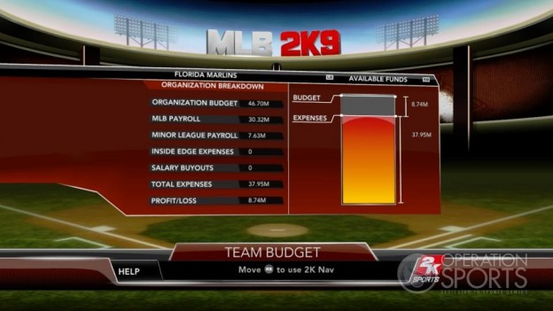 Major League Baseball 2K9 Screenshot #282 for Xbox 360