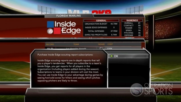 Major League Baseball 2K9 Screenshot #283 for Xbox 360