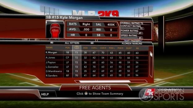 Major League Baseball 2K9 Screenshot #284 for Xbox 360