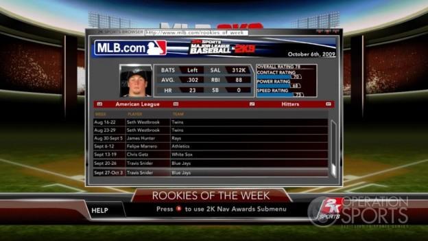 Major League Baseball 2K9 Screenshot #288 for Xbox 360