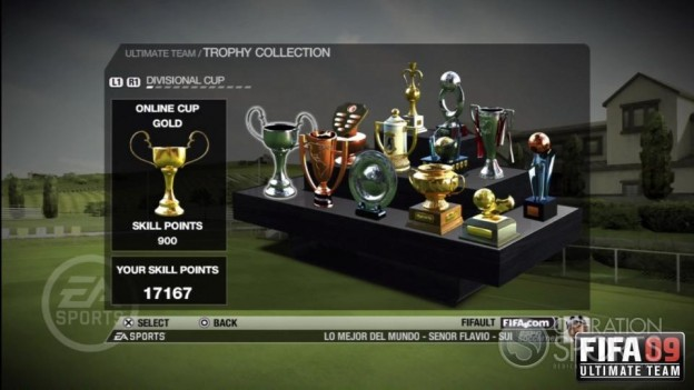 FIFA 09 Ultimate Team Screenshot #2 for Xbox 360