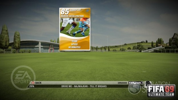 FIFA 09 Ultimate Team Screenshot #4 for Xbox 360