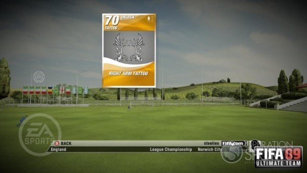 FIFA 09 Ultimate Team Screenshot #5 for Xbox 360