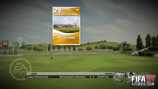 FIFA 09 Ultimate Team Screenshot #7 for Xbox 360
