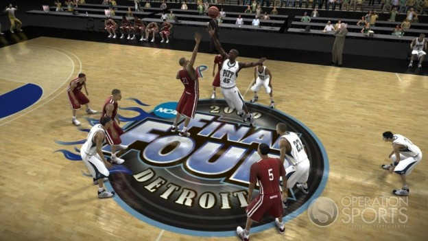 NCAA Basketball 09: March Madness Edition Screenshot #1 for Xbox 360