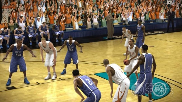 NCAA Basketball 09: March Madness Edition Screenshot #3 for Xbox 360