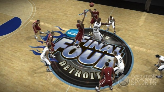 NCAA Basketball 09: March Madness Edition Screenshot #7 for Xbox 360