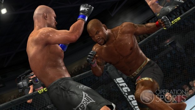 UFC 2009 Undisputed Screenshot #11 for Xbox 360