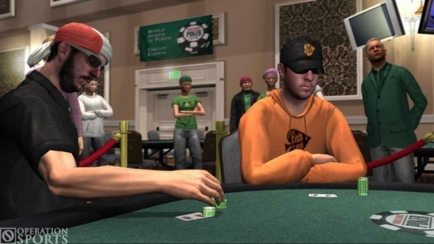 World Series of Poker: Tournament of Champions 2007 Edition Screenshot #1 for Xbox 360