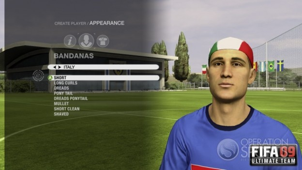 FIFA 09 Ultimate Team Screenshot #11 for Xbox 360