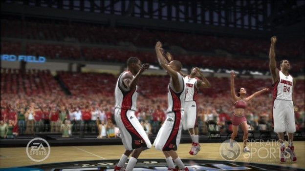 NCAA Basketball 09: March Madness Edition Screenshot #10 for Xbox 360
